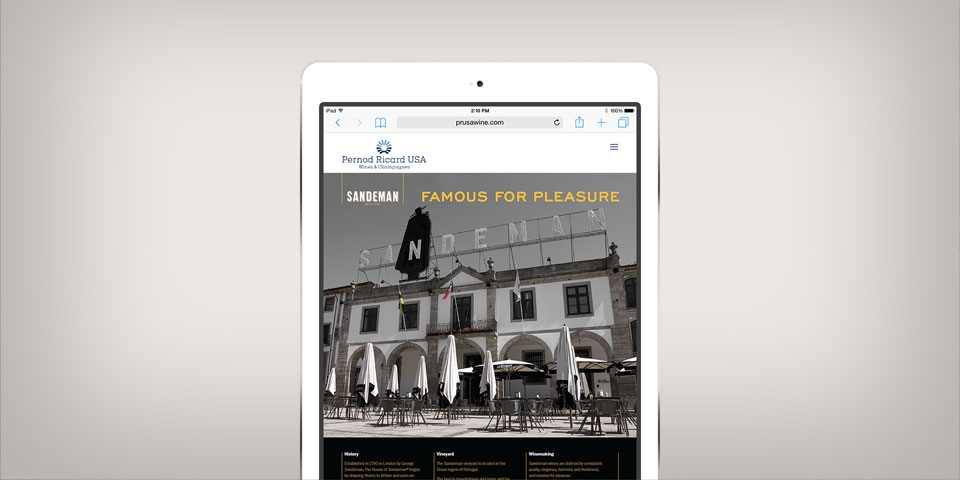 Pernod Ricard Asset Library